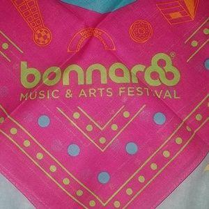 Accessories - Bonnaroo 2018 fanny pack, bandana & stickers